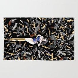 Bullet Girl Rug