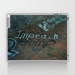 Spray paint: Impeach Trump Laptop & iPad Skin