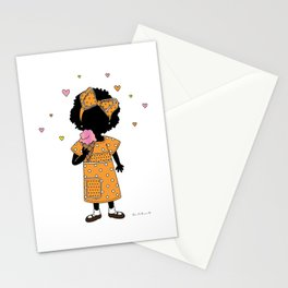 Sister Eats Ice Cream... Stationery Cards