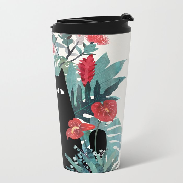 Popoki Metal Travel Mug