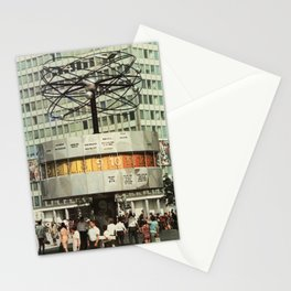 East berlin Weltzeituhr Stationery Cards