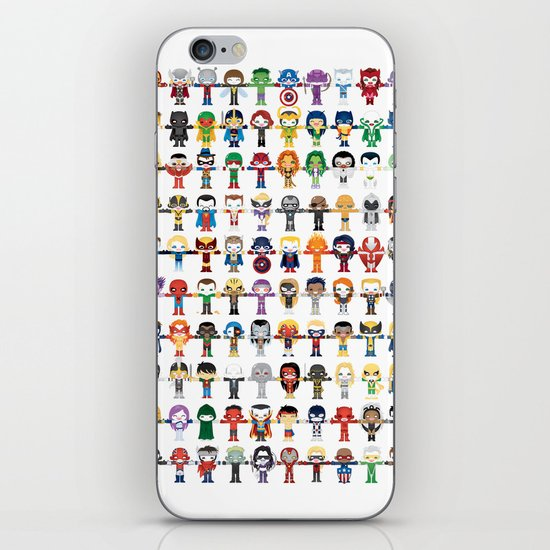 THE ULTIMATE 'AVENGER'S' ROBOTIC COLLECTION iPhone & iPod Skin