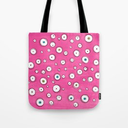All Eyes on You Pink Tote Bag