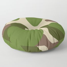 Camouflage Pattern (Camo) Floor Pillow