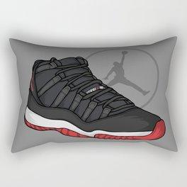 Jordan 11 (Breds) Rectangular Pillow
