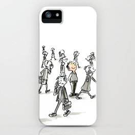 Unplugged iPhone Case