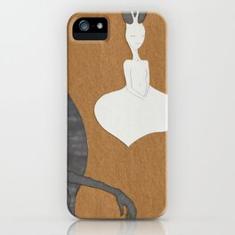 The Hermit and the Hierophant 2 iPhone Case