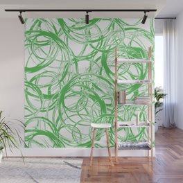 Greenery Orbit Wall Mural