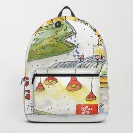 Hong Kong Fish Market Backpack