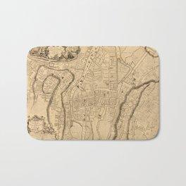 Map Of Cork 1771 Bath Mat