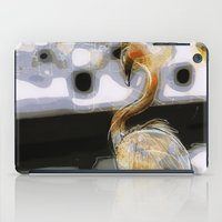 flamingo iPad Cases featuring flamingo by Cool-Sketch-Len