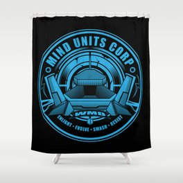 Mind Units Corp - Weapons of Mass Destruction Resistance Version Shower Curtain