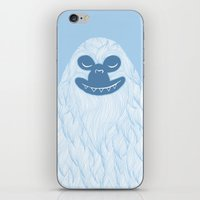 yeti iPhone & iPod Skins featuring Yeti by valorandvellum