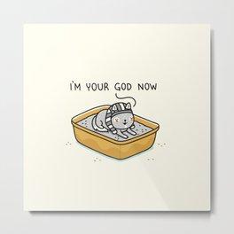 Your god Metal Print