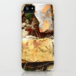 Diamond Can Be Rough iPhone Case
