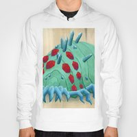 nausicaa Hoodies featuring crystal ohmu by terastar