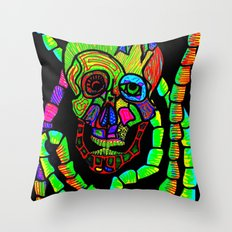 Bot Fly Attacked my Conscience Throw Pillow