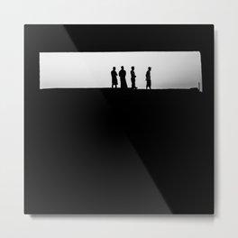 Lombok silhouettes Metal Print