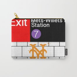 NYC Mets Subway Carry-All Pouch