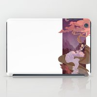 snow white iPad Cases featuring Snow White by Ann Marcellino