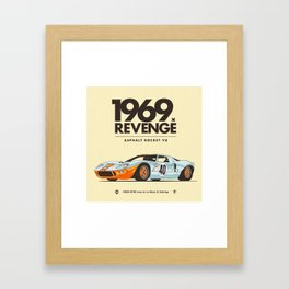 1969 Framed Art Print