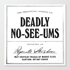 Deadly No-See-Ums Canvas Print