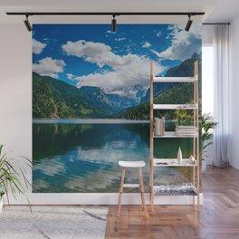Mountain Valley Lake Wall Mural