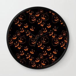 Jack O Lanterns Wall Clock