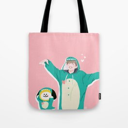 Dinosaur Chimmy (Pink Ver.) Tote Bag