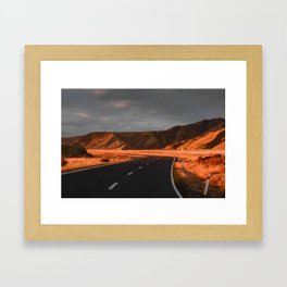 A South Coast Journey Framed Art Print