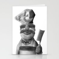 swedish Stationery Cards featuring Swedish Chef by axemangraphics