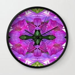 Delicate Symmetry Wall Clock
