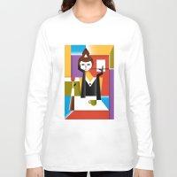 breakfast Long Sleeve T-shirts featuring Breakfast by Szoki