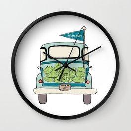 Watermelon Truck Wall Clock