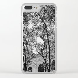 New York Library II Clear iPhone Case