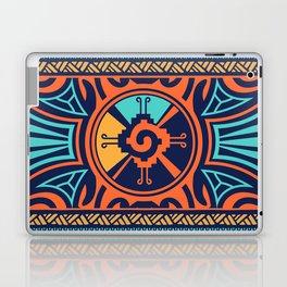 Colorful Hunab Ku Mayan symbol #2 Laptop & iPad Skin