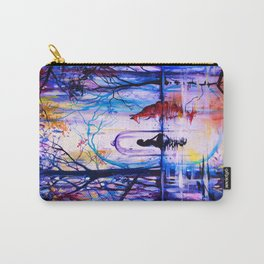 Soul reflection (The girl, the fox and the love) Carry-All Pouch