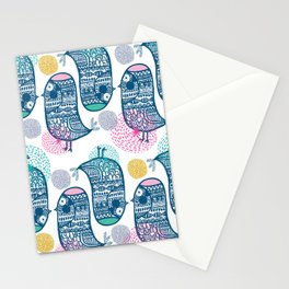 KISSING BIRDS Stationery Cards