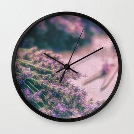 Lavender Revival Wall Clock