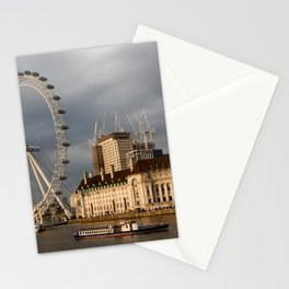 The London Eye On The South Bank Stationery Cards