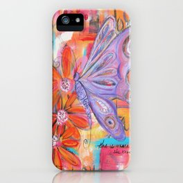 She is more than She knows... iPhone Case