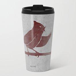 the bird is the f-word Travel Mug