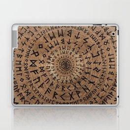 Elder Futhark Circular Composition Laptop & iPad Skin