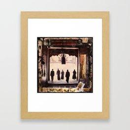 AYUNG PURA, Beautiful Temple Framed Art Print