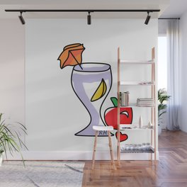 Juicing Wall Mural