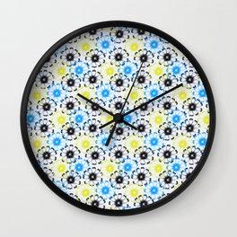 little wildflowers Wall Clock
