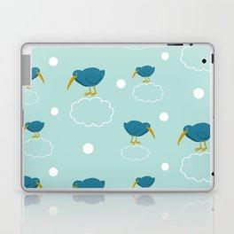 Kiwi birds on the clouds Laptop & iPad Skin