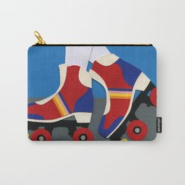 70s Roller Skate Girl Carry-All Pouch