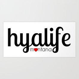 Hyalife  Art Print