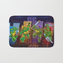 Ninja Teen Turtle Mutants xstat Bath Mat